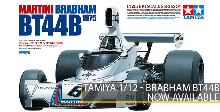 Tamiya 12042 - Martini Brabham BT44B - 1/12