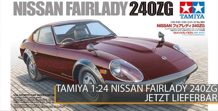 Tamiya 24360 Nissan Fairlady 240ZG - 1:24