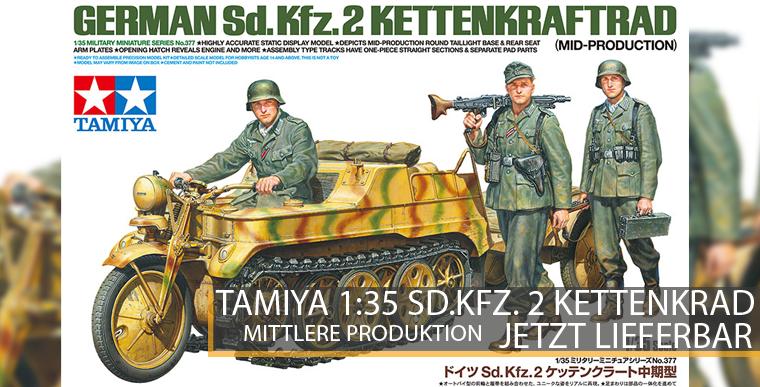 Tamiya 35377 Sd.Kfz.2 Kettenkraftrad - 1:35