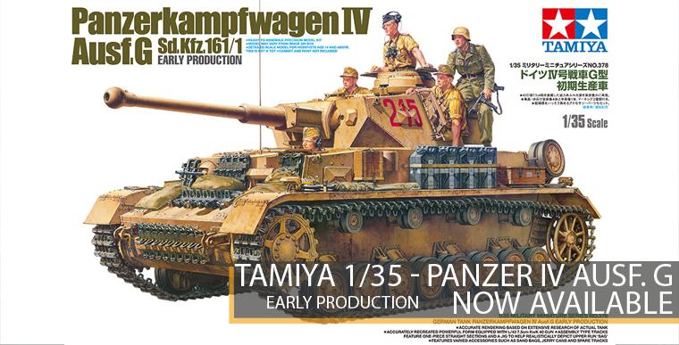 Tamiya 353578 - Panzer IV Ausf. G - Early Production - 1/35