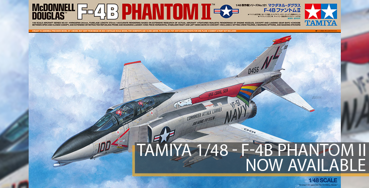 Tamiya 61221 - F-4B Phantom II - 1/48