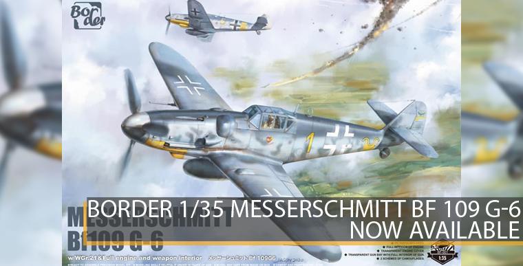 Border BF-001 - Messerschmitt Bf 109 G-6 - 1/35