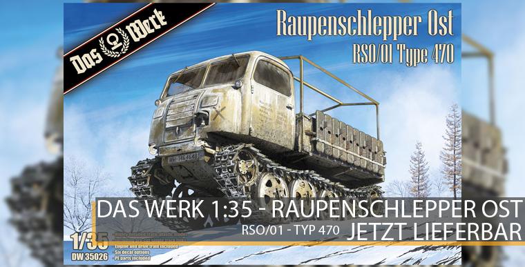 Das Werk 35026 - Raupenschlepper Ost / RSO - 1:35