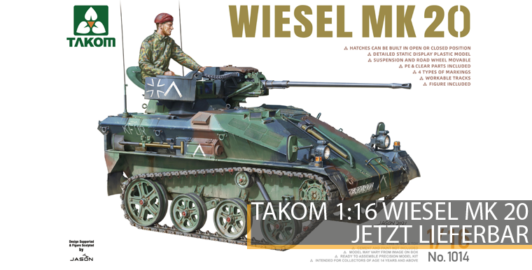 Takom 1014 - Wiesel Mk. 20 - 1:16