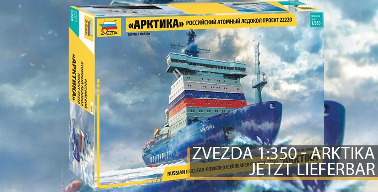 Zvezda 9044 - Artika - Russischer Atomgetriebener Eisbrecher - 1