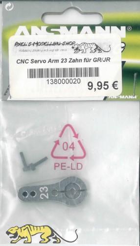 Ansmann CNC Servo Arm 23 gears