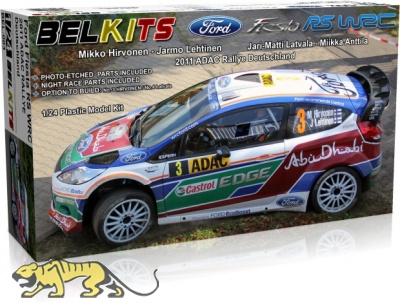Ford Fiesta RS WRC - 1:24