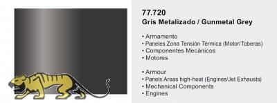 Metal Color 77720 - Gunmetal Grey