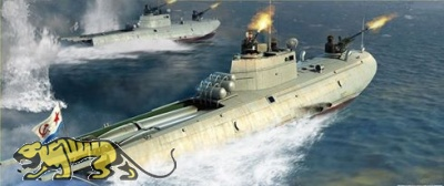 Soviet Navy - G5 Class Motor Torpedo Boat - 1:35