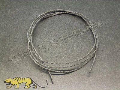 Flexibles Stahlseil 1,5 mm - 100cm lang