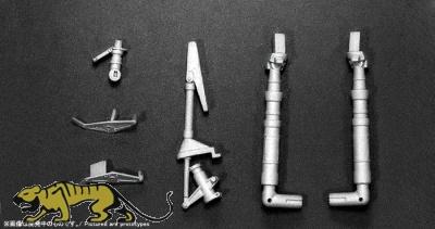 Metallfahrwerk für Skyraider A-1H Navy - Zoukei Mura (SWS03) - 1:32