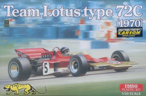 Team Lotus type 72C - 1970 - 1:20