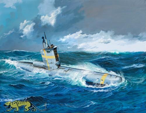 German Submarine Type XXIII - 1/144