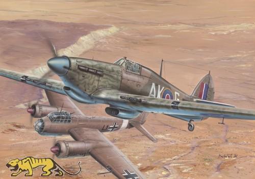 Hawker Hurricane Mk. II C - TROP - 1/32
