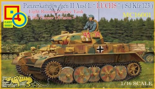 Panzerkampfwagen II Ausf. L - LUCHS - Sd.Kfz. 123 - 9th Panzer Division