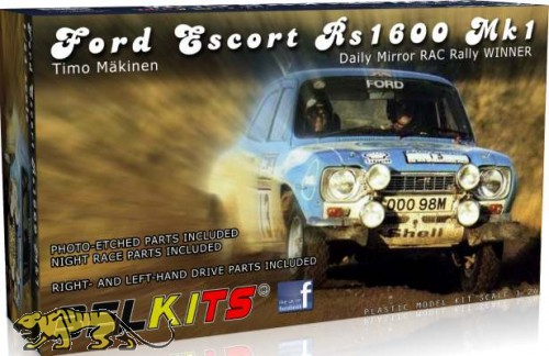 Ford Escort RS1600 Mk1 - Timo Mäkinen - 1/24