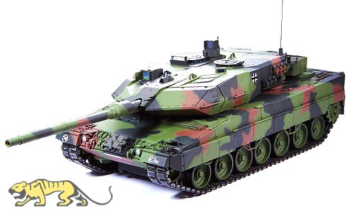 Leopard 2A6 - RC Full Option Kit - 1:16