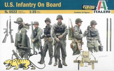 US Infantry On Board - 1:35