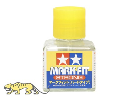 Tamiya Mark Fit Strong - Decal Solvent Solution