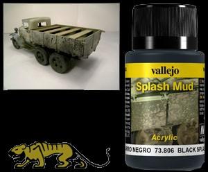 Weathering Effects 73806 - Black Splash Mud