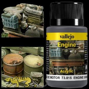 Weathering Effects 73815 - Engine Grime / Motor-Schmutz