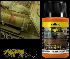 Weathering Effects 73816 - Engine Diesel Stains