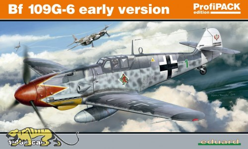 Messerschmitt Bf 109 G-6 - early version - Profi Pack