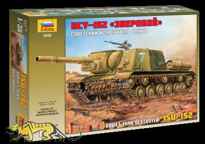 Sowjetischer schwerer Jagdpanzer JSU-152 - 1:35