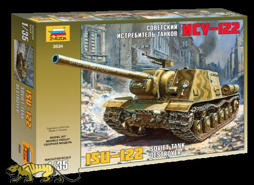 Sowjetischer schwerer Jagdpanzer JSU-122 - 1:35
