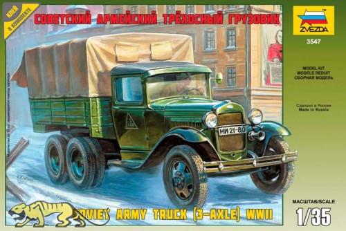 GAZ-AAA - 3 Achsiger Sowjetischer LKW - 1:35
