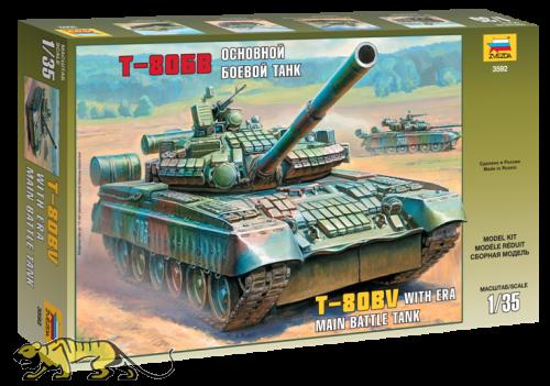 Russischer Hauptkampfpanzer T-80BV - 1:35