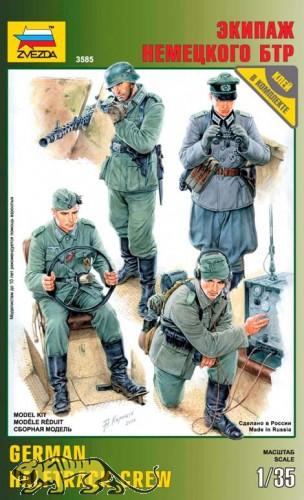Wehrmacht Halbketten-Besatzung - Figurenset - 1:35