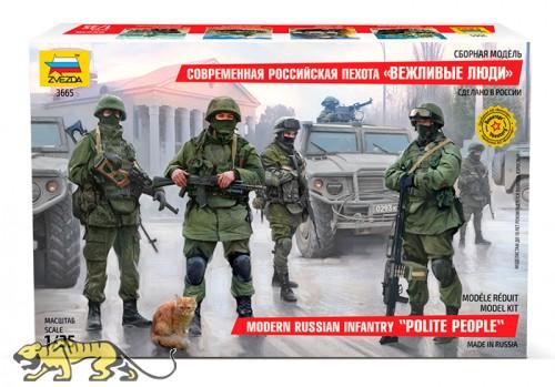 Moderne Russische Infanterie - Figurenset - 1:35