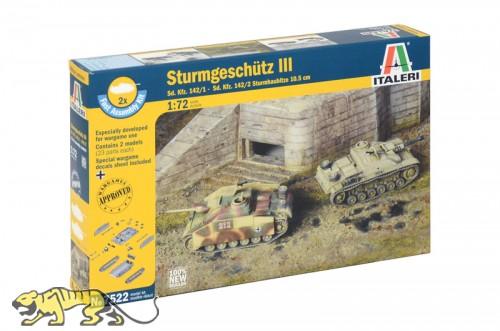 Sturmgeschütz III - Set - 2 Modelle - StuG III und 10,5cm StuH