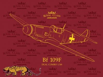 Messerschmitt Bf 109 F - Dual Combo - Royal Class