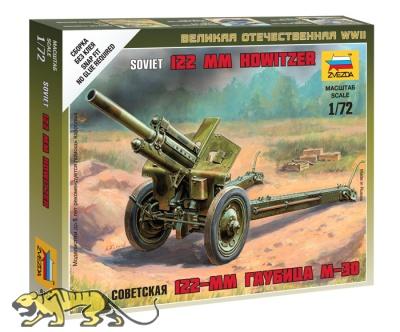 Sowjetische 122mm Haubitze M-30 mit Besatzung - 1:72