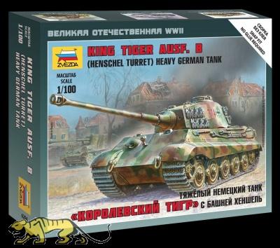 Panzerkampfwagen VI Ausf. B Königstiger mit Henschel Turm - 1:100