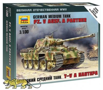 Panzerkampfwagen Panther Ausf. A - Mittelschwerer deutscher Panzer - 1:100