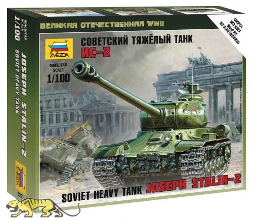 Josef Stalin 2 - Sowjetischer schwerer Panzer - 1:100