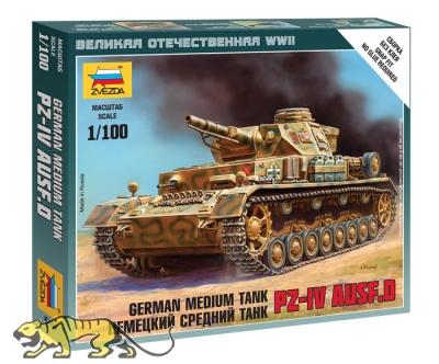 Panzerkampfwagen IV Ausf. D - Deutscher mittelschwerer Panzer - 1:100