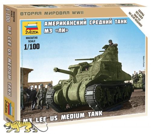 U.S. Medium Tank M3 Lee - 1/100