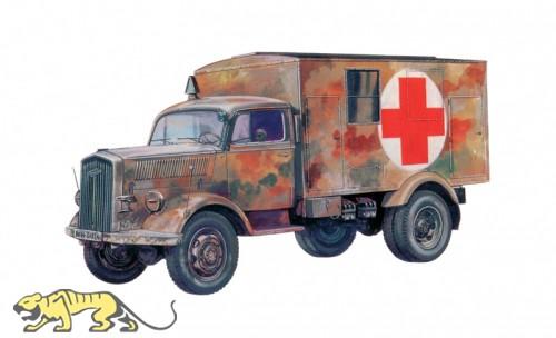 Wehrmacht Kfz. 305 - Opel Blitz - Sanitätswagen