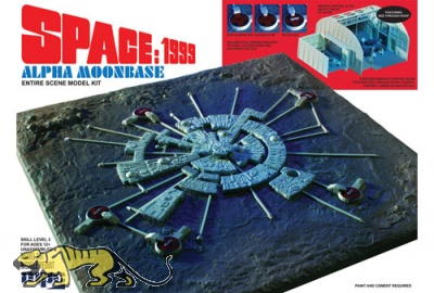 Space 1999 - Alpha Moonbase - Mondbasis Alpha 1