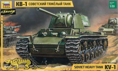 KV-1 - sowjetischer schwerer Panzer - 1:35