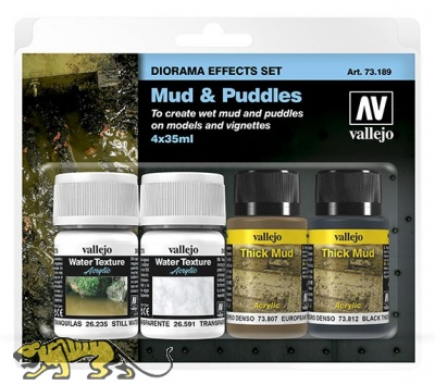 Mud & Puddles - Diorama Effects Set