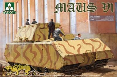 Maus - V1 - Deutscher überschwerer Panzer - 1:35