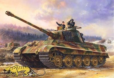 Königstiger - Henschel Turm - Tiger Ausf. B - Sd.Kfz. 182 - 1:35