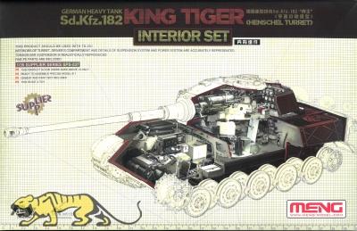 Königstiger - Henschel Turm - Interior Set für Meng TS-031 - 1:35