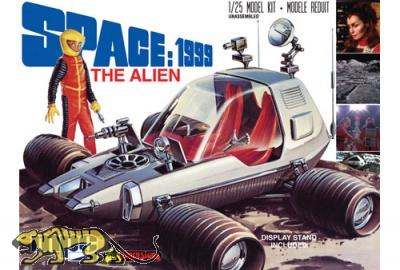 Space 1999 / Mondbasis Alpha 1 - The Alien / Moon Rover