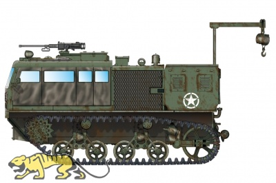 M4 High Speed Tractor (155mm/8-in./240mm) - 1:72